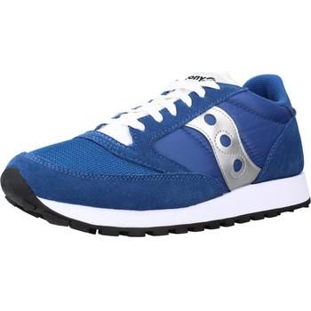 Schoenen Dames Sneakers Saucony JAZZ ORIGINAL VINTAGE Blauw