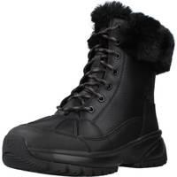 Schoenen Dames Laarzen UGG Yose Fluff Zwart
