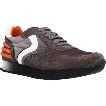 Schoenen Jongens Lage sneakers Voile Blanche LIAM POWER LACCIO Bruin