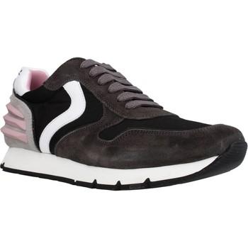 Schoenen Meisjes Lage sneakers Voile Blanche LIAM POWER LACCIO Zwart
