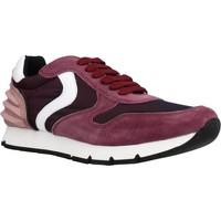 Schoenen Meisjes Lage sneakers Voile Blanche LIAM POWER LACCIO Rood