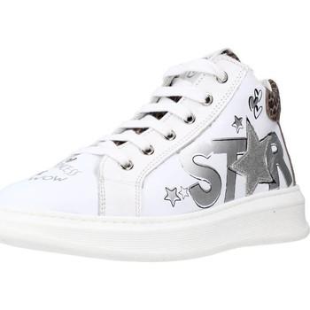 Schoenen Meisjes Lage sneakers Naturino TISBE ZIP Wit