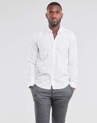 Textiel Heren Overhemden lange mouwen BOTD OMAN Wit