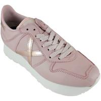 Schoenen Dames Lage sneakers Munich massana sky 8810104 Roze