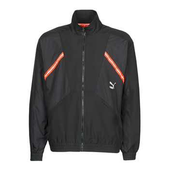 Textiel Heren Trainings jassen Puma WVN JACKET Zwart / Rood