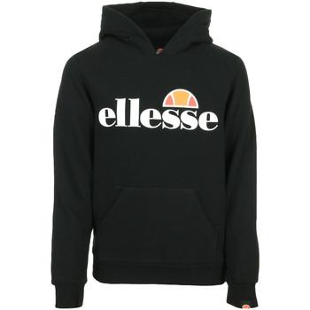 Textiel Kinderen Sweaters / Sweatshirts Ellesse Jero Hoody Jr Zwart