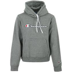 Textiel Dames Sweaters / Sweatshirts Champion Hooded Sweatshirt Wn's Grijs