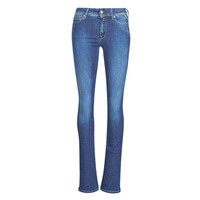 Textiel Dames Bootcut jeans Replay LUZ Super / Light / Blauw