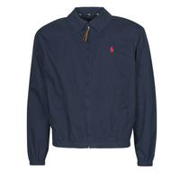 Textiel Heren Wind jackets Polo Ralph Lauren BLOUSON BAYPORT EN COTON LEGER LOGO PONY PLAYER Blauw