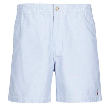 Textiel Heren Korte broeken / Bermuda's Polo Ralph Lauren SHORT PREPSTER AJUSTABLE ELASTIQUE AVEC CORDON INTERIEUR LOGO PO Blauw