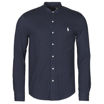 CHEMISE AJUSTEE COL MAO EN POLO FEATHERWEIGHT LOGO PONY PLAYER