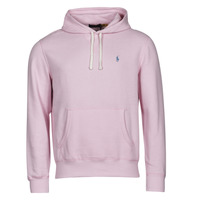 Textiel Heren Sweaters / Sweatshirts Polo Ralph Lauren SWEAT A CAPUCHE MOLTONE EN COTON LOGO PONY PLAYER Roze