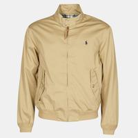 Textiel Heren Wind jackets Polo Ralph Lauren BLOUSON BARACUDA COTON DOUBLE LOGO PONY PLAYER Beige