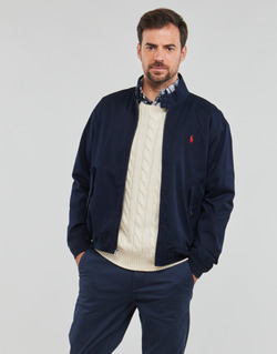 Textiel Heren Wind jackets Polo Ralph Lauren BLOUSON BARACUDA COTON DOUBLE LOGO PONY PLAYER Blauw
