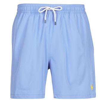 Textiel Heren Zwembroeken/ Zwemshorts Polo Ralph Lauren MAILLOT SHORT DE BAIN EN NYLON RECYCLE, CORDON DE SERRAGE ET POC Blauw