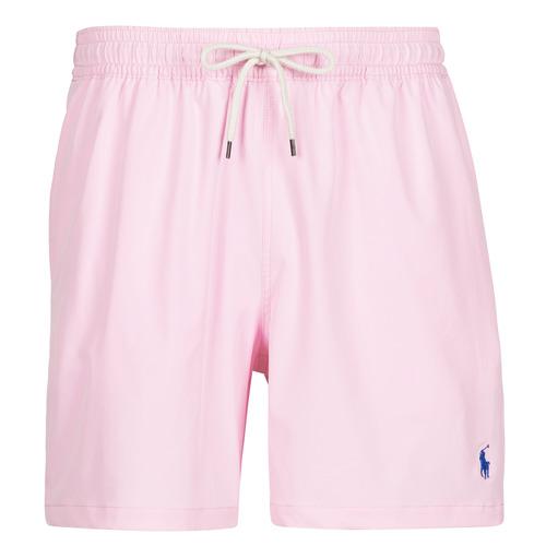 Textiel Heren Zwembroeken/ Zwemshorts Polo Ralph Lauren MAILLOT SHORT DE BAIN EN NYLON RECYCLE, CORDON DE SERRAGE ET POC Roze