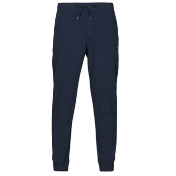 Textiel Heren Trainingsbroeken Polo Ralph Lauren PANTALON DE JOGGING EN DOUBLE KNIT TECH LOGO PONY PLAYER Marine