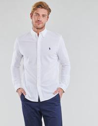 Textiel Heren Overhemden lange mouwen Polo Ralph Lauren COPOLO Wit