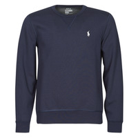 Textiel Heren Sweaters / Sweatshirts Polo Ralph Lauren SWEATSHIRT COL ROND EN JOGGING DOUBLE KNIT TECH LOGO PONY PLAYER Blauw / Marine