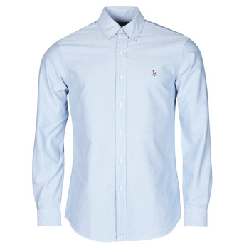 CHEMISE AJUSTEE EN OXFORD COL BOUTONNE  LOGO PONY PLAYER MULTICO