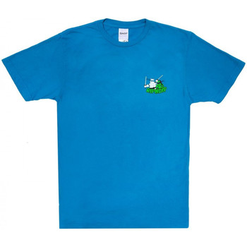 Textiel Heren T-shirts korte mouwen Ripndip Teenage mutant tee Blauw