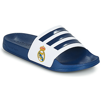 Schoenen slippers adidas Performance ADILETTE SHOWER Blauw / Wit