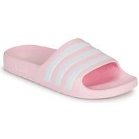 Schoenen Meisjes Sandalen / Open schoenen adidas Performance ADILETTE AQUA K Roze