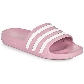 Schoenen Dames slippers adidas Performance ADILETTE AQUA Roze