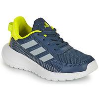 Schoenen Jongens Lage sneakers adidas Performance TENSAUR RUN K Blauw / Geel