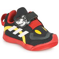 Schoenen Kinderen Lage sneakers adidas Performance ACTIVEPLAY MICKEY I Zwart / Rood