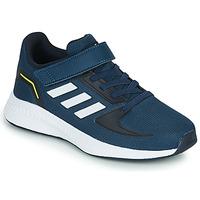Schoenen Kinderen Lage sneakers adidas Performance RUNFALCON 2.0 C Marine / Wit