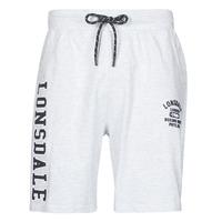 Textiel Heren Korte broeken / Bermuda's Lonsdale KNUTTON Grijs