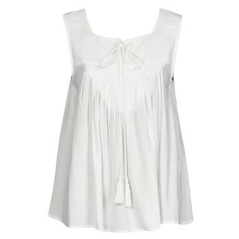 Textiel Dames Mouwloze tops See U Soon 21111205B Wit
