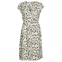 Textiel Dames Korte jurken See U Soon 21122122 Beige / Kaki