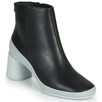 Schoenen Dames Enkellaarzen Camper UPRIGHT Zwart / Wit