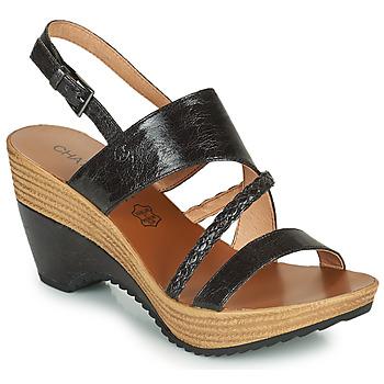 Schoenen Dames Sandalen / Open schoenen Chattawak JULIETTE Zwart