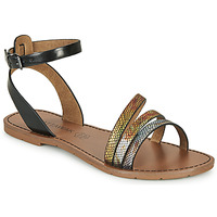 Schoenen Dames Sandalen / Open schoenen Chattawak PAGO Zwart / Multi