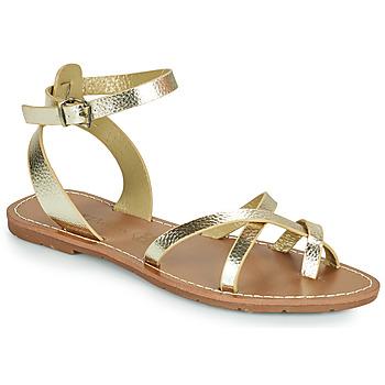 Schoenen Dames Sandalen / Open schoenen Chattawak PERLA Goud