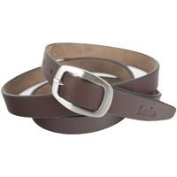 Accessoires Riemen Lois Unisex Leather Bruine