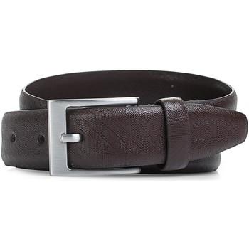 Accessoires Riemen Jaslen Snake Leather Bruine