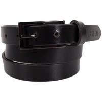 Accessoires Riemen Jaslen Unisex Leather Zwart