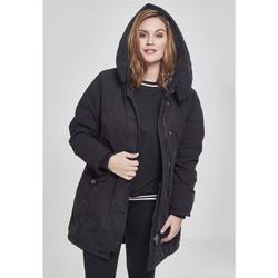 Textiel Dames Parka jassen Urban Classics Parka femme Urban Classic gart wahed long GT noir