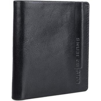 Tassen Heren Portefeuilles Lois EAGLE Vertical Leather HerenPortemonnee 202606 Zwart