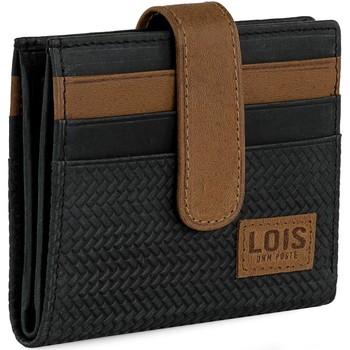 Tassen Heren Aktentassen / Zakentassen Lois DAVIDSON Lederen Portemonnee voor heren Zwart