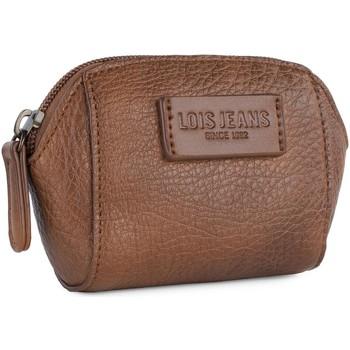 Tassen Dames Portefeuilles Lois CALGARY Womens Faux Fur Wallet Bruine