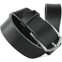 Accessoires Riemen Jaslen Hebijon Leather Zwart