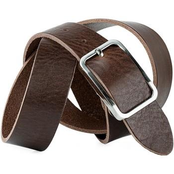 Accessoires Riemen Jaslen Pin Leather Bruine