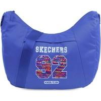 Tassen Handtassen kort hengsel Skechers STARLIGHT Unisex Tas Tatoeage blauw