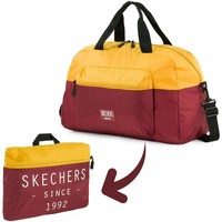 Tassen Reistassen Skechers MOVE Geïntegreerde Pocket Folding Gym Bag Oud Goud