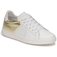 Schoenen Dames Lage sneakers Myma PIGGE Wit / Goud